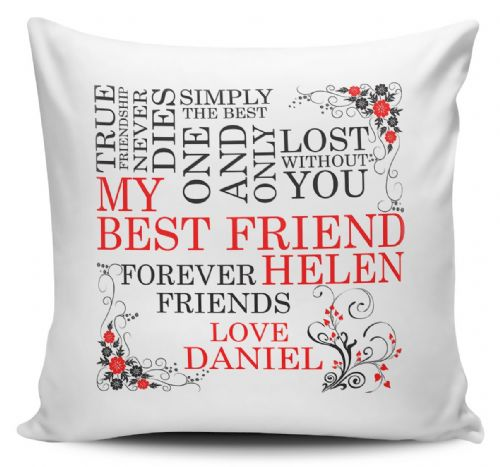 Personalised My Best Friend Cushion Cover
